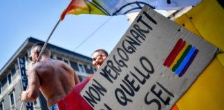 Foto LaPresse/Claudio Furlan 29 Giugno 2019, Milano - ItaliaCronaca Milano Pride 2019Nella foto: un momento della parata