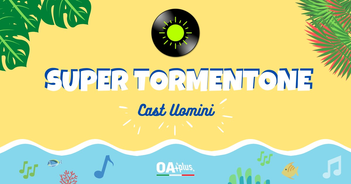 SUPER TORMENTONE: i 17 interpreti maschili qualificati ai sedicesimi