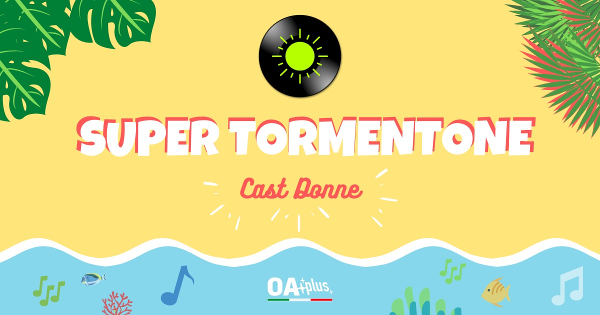 SUPER TORMENTONE: le 17 interpreti femminili qualificate ai sedicesimi