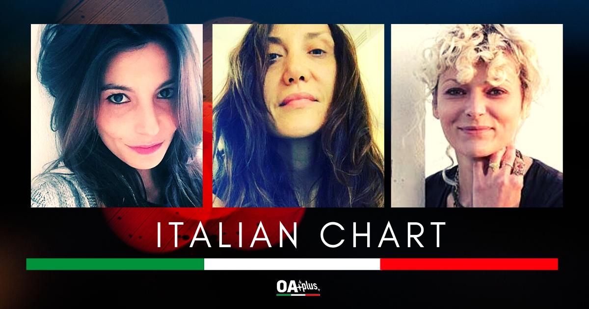 OA PLUS ITALIAN CHART (Week 20 / 2020): Top 3 tutta al femminile con Marina Rei, Ilaria Porceddu e Elisa Rossi