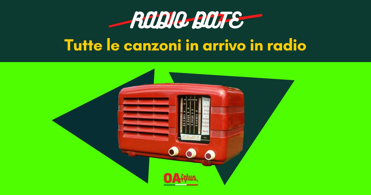 Radio Date, singoli in rotazione da venerdì 12 giugno 2020: da Alessandra Amoroso & Boomdabash a Le Vibrazioni e Galeffi