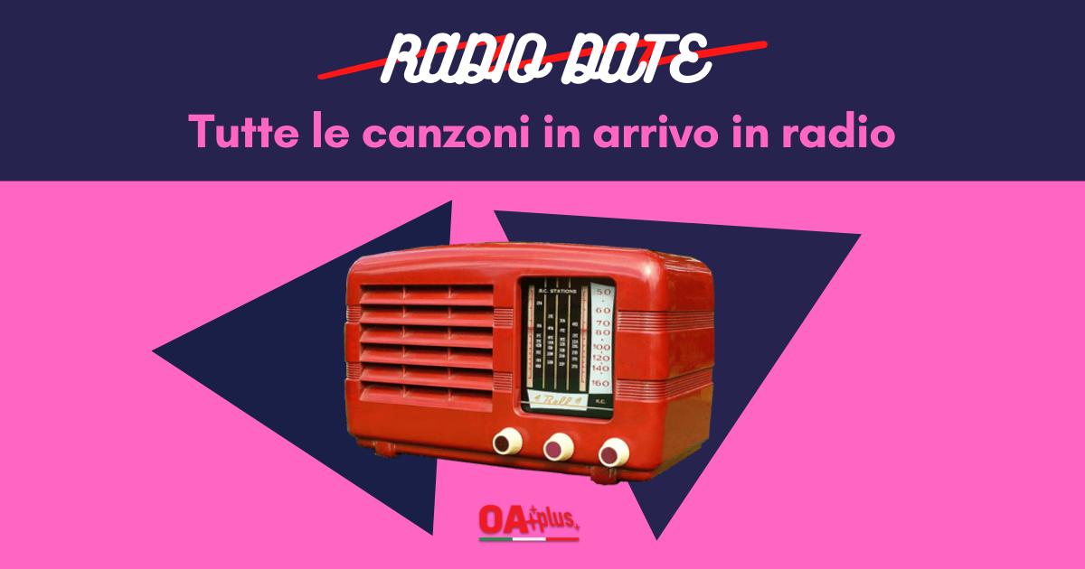 Radio Date, da venerdì 4 Settembre: da Biagio Antonacci e Tommaso Paradiso, masochisti in cerca di flop, al debutto del promettente Fellow