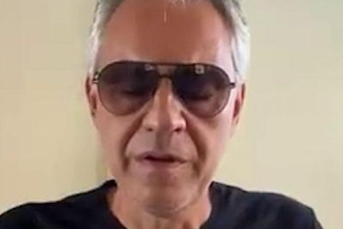 """Andrea Bocelli: """"Mi scuso se il mio intervento al Senato ha offeso o ferito chi è stato colpito dal Covid"""""""