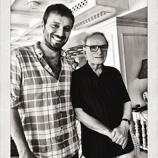 "Cesare Cremonini: ""Grazie maestro Ennio Morricone"""