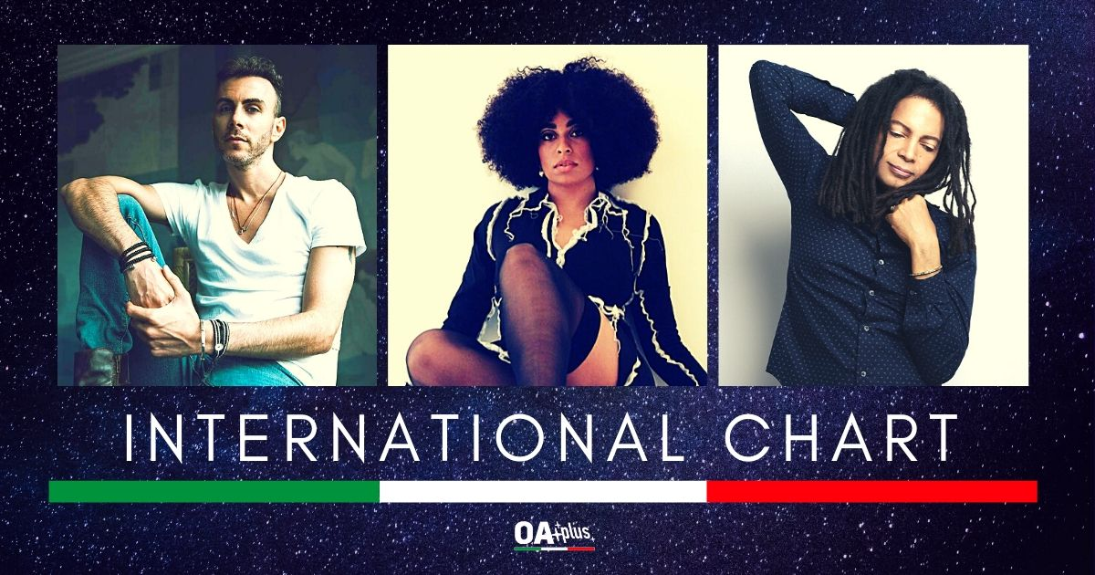 OA PLUS INTERNATIONAL CHART (Week 23/2020): Ritorno in Top 3 per Celeste, debutto alto per Asif Avidan e Sananda Maitreya