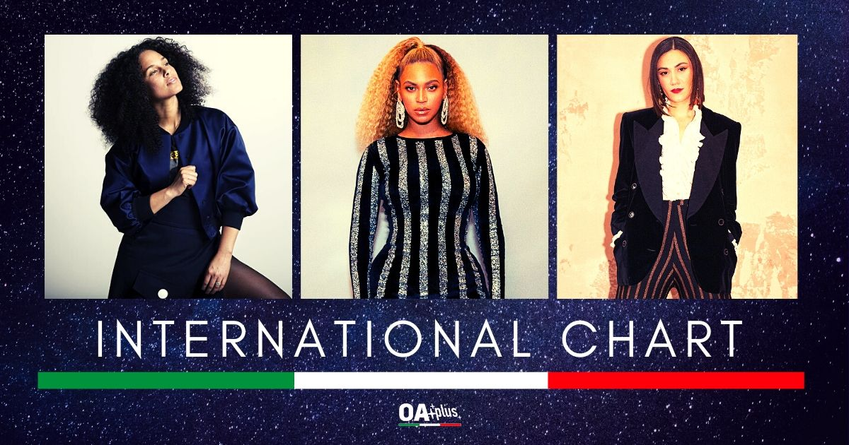 OA PLUS INTERNATIONAL CHART (Week 22/2020): Debuttano Nadine Shah e Zoe Wees, stabili Beyoncé e Alicia Keys