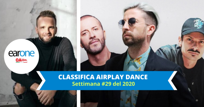 Topi, a7s, danti, raf, rovazzi classifica dance earone settimana 28 2020