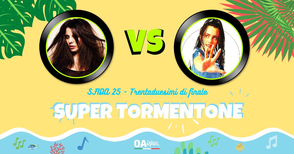 """SUPER TORMENTONE: """"Angeli noi"""" di Mietta VS """"The summer is crazy"""" di Alexia – Vota il tuo preferito"""