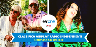 earone classifica radio indipenndenti: la top 10 settimanale