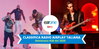 earone airplay italiana settimana 30 2020