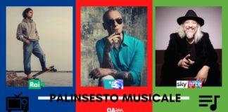 PALINSESTO MUSICALE. Eugenio Finardi, J-Ax, Leo Gassmann, Abba, Quartetto Hagen, Massimo Zamboni, Daft Punk, Damiano Michieletto