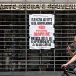 Italia al collasso economico, estesi aiuti anti Covid-19 anche a micro e piccole imprese