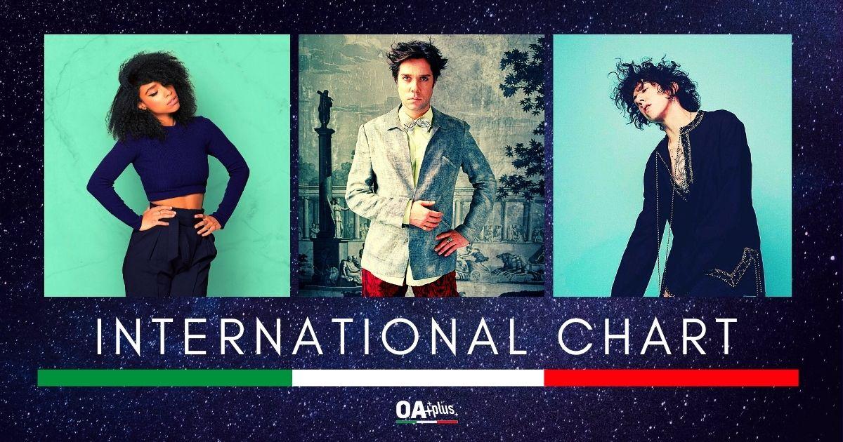 OA PLUS INTERNATIONAL CHART (Week 26/2020): LP domina la classifica, debuttano Angel Olsen e Lianne La Havas. Stabile Rufus Wainwright