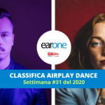 "EarOne Classifica Airplay Dance, settimana 31 del 2020: ""Hypnotized"" di Purple Disco Machine & Sophie and the Giants si prende il primo posto"