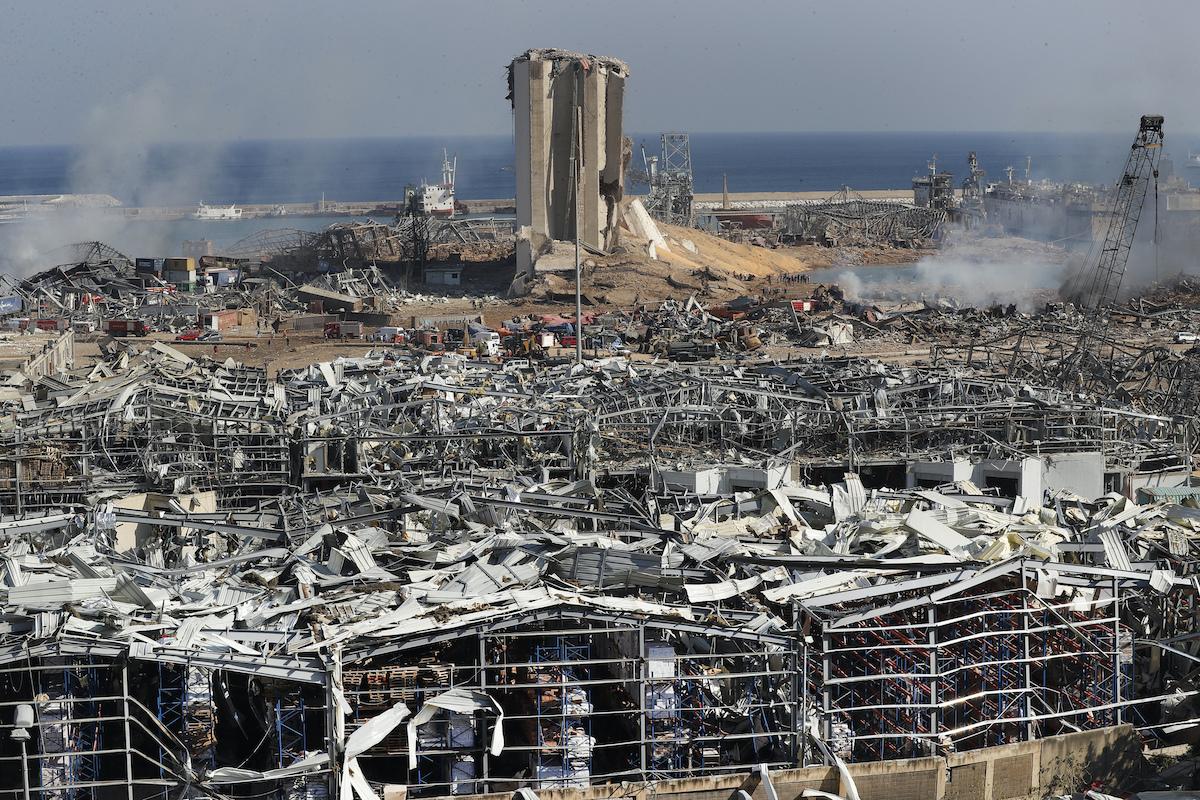 Beirut: critica la situazione dopo le esplosioni