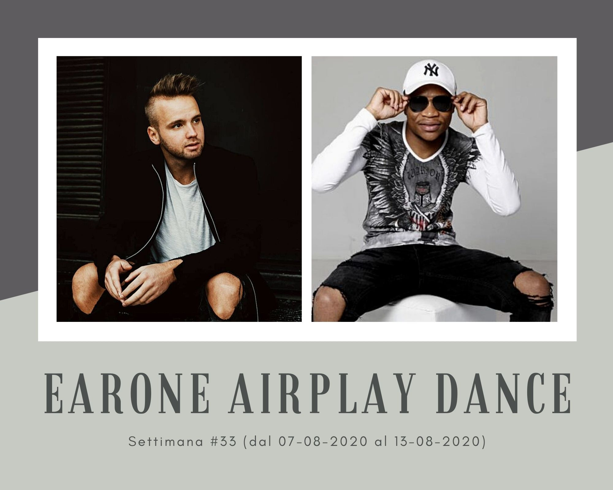 Classifica Radio EarOne Airplay Dance, week 33: un'estate di coppia. Spopolano Purple Disco Machine & Sophie and the Giants, Topic & A7s, Master KG & Nomcebo Zikode