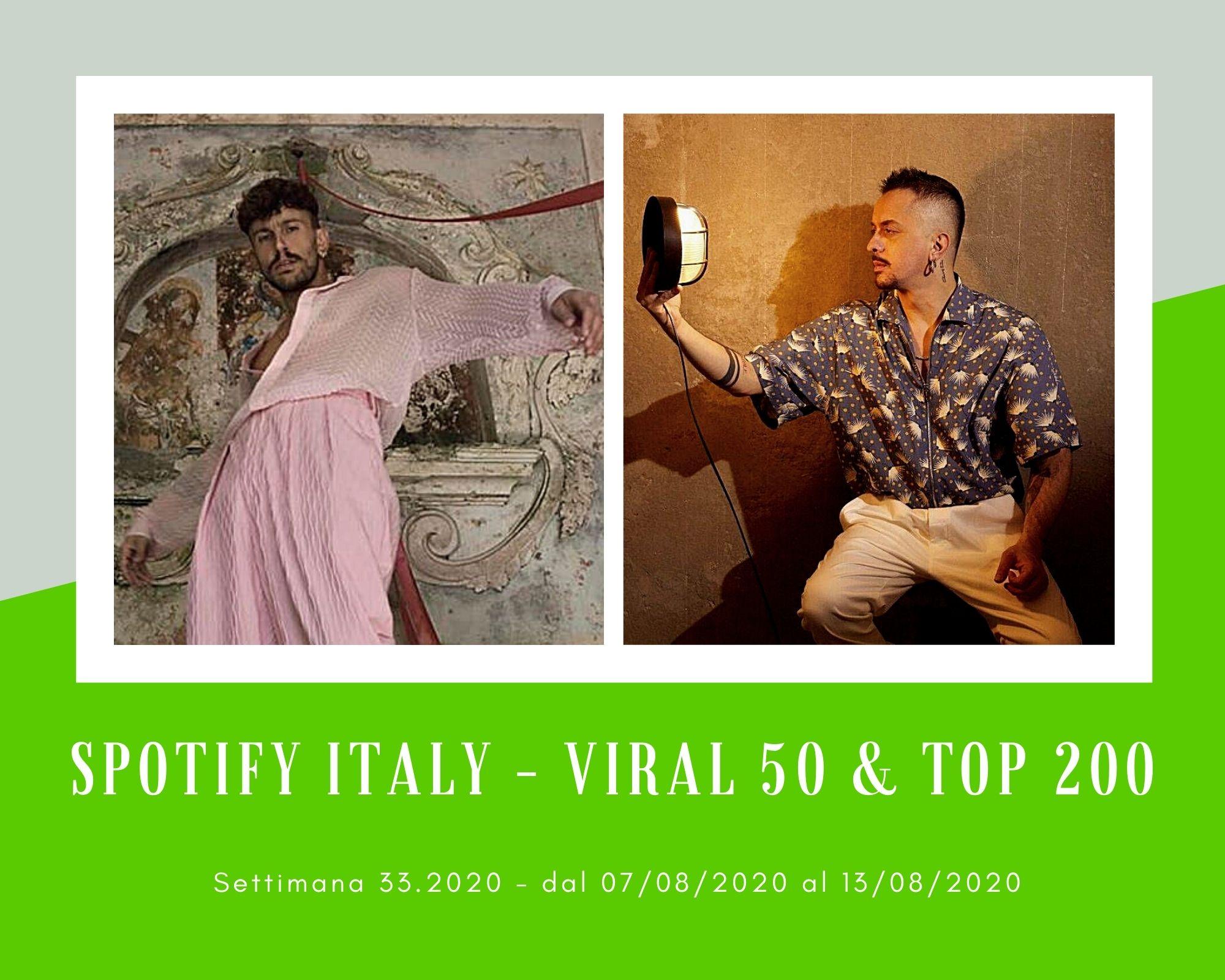 Classifica Spotify, week 33: salgono Aiello, la rivelazione dell'estate, e Dardust con il trio rap Ghali-Madame-Marracash