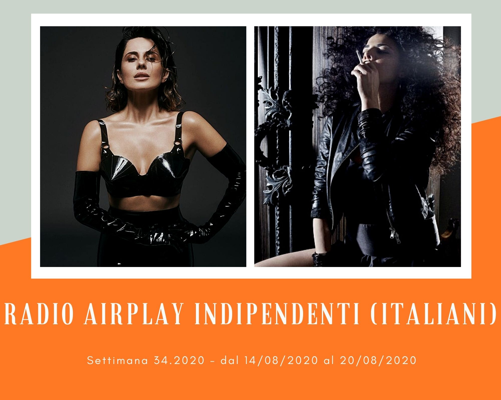 Classifica Radio Airplay Indipendenti Italiani, week 34: Mietta e Paola Iezzi si sfidano, Arisa e Mario Biondi avanzano