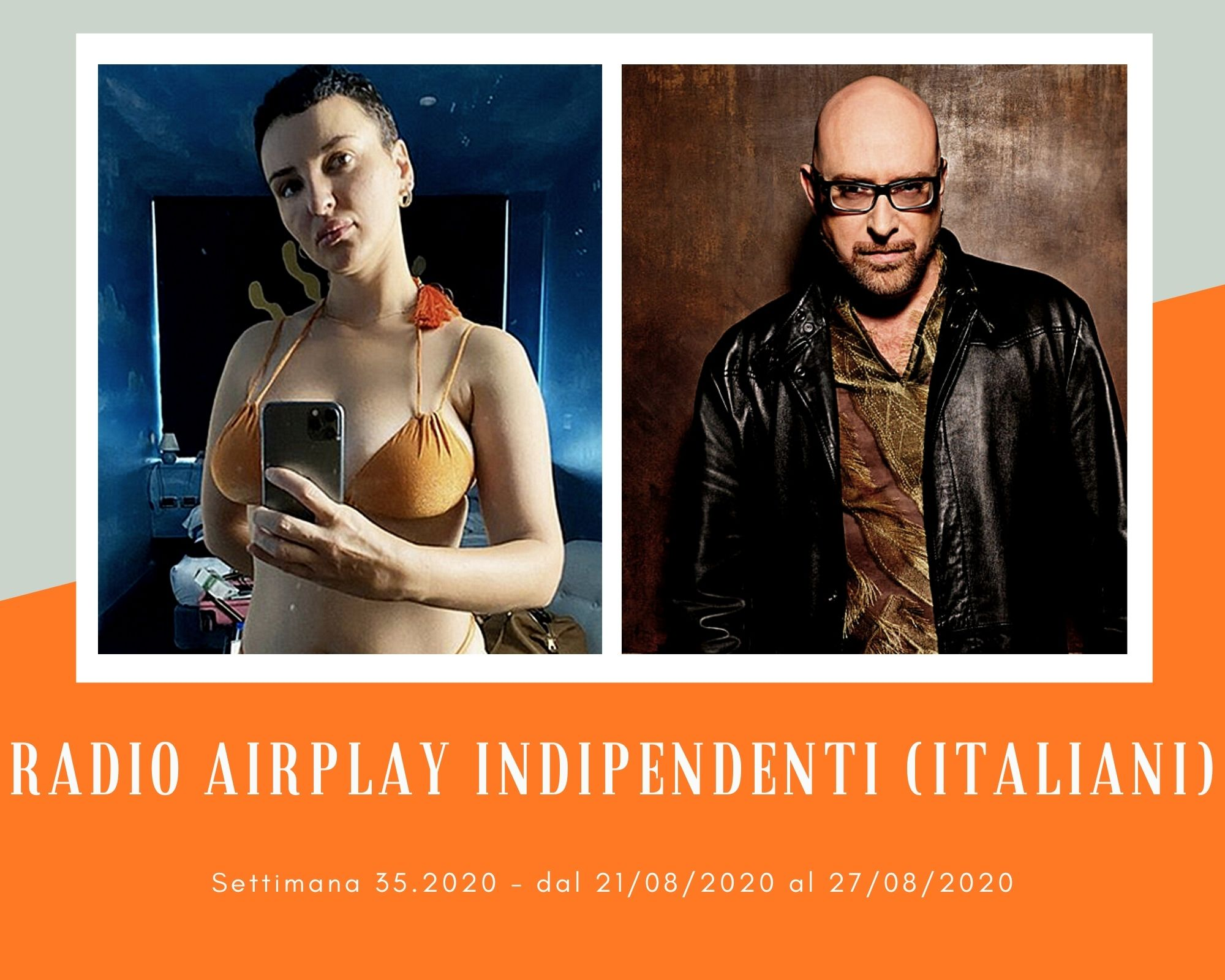 Classifica Radio Airplay Indipendenti Italiani, week 35: Arisa e Mario Biondi sempre più su, Paola Iezzi e Mietta reggono