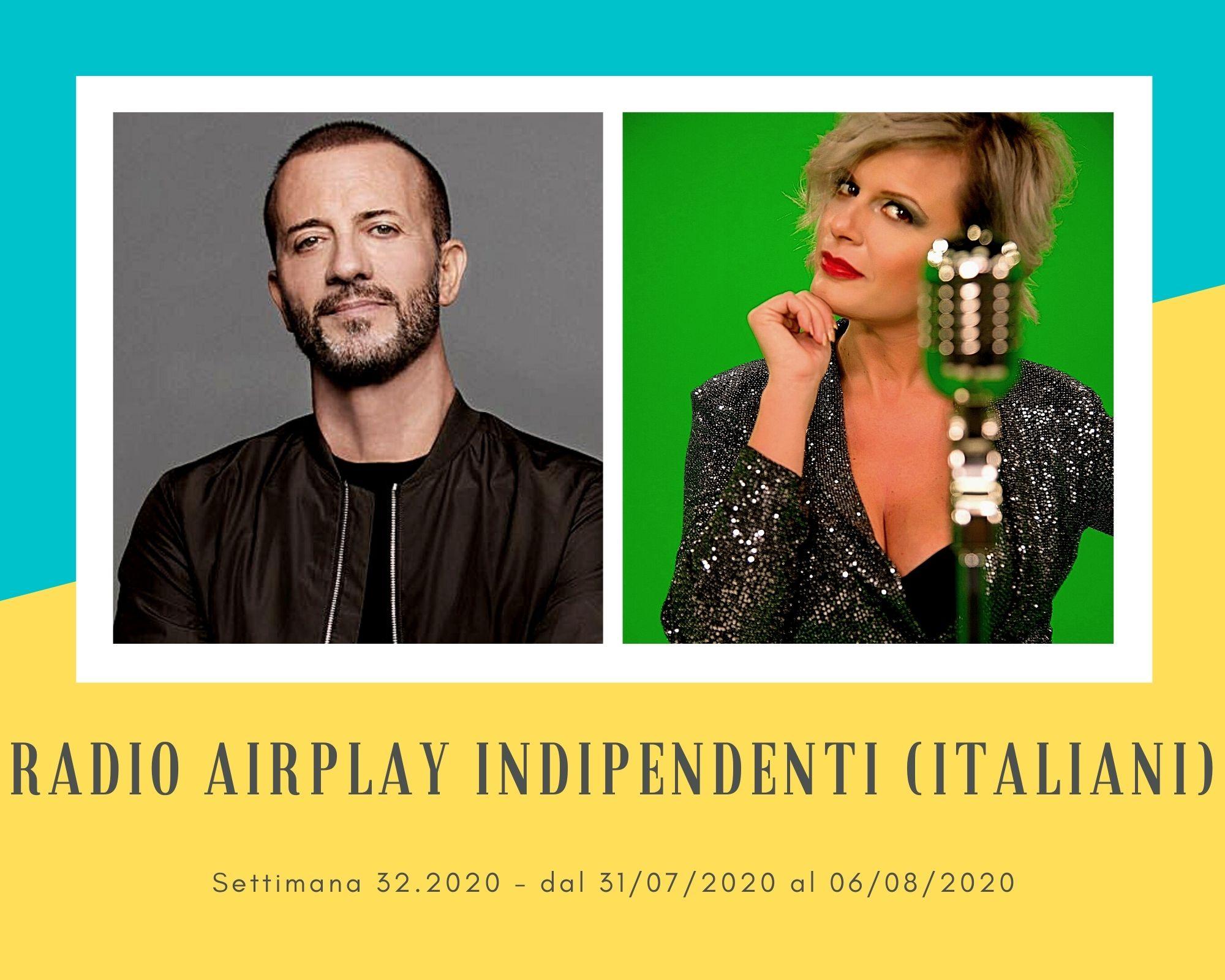 Classifica Radio Airplay Indipendenti Italiani, week 32: Raf sempre in vetta, Vanessa Grey esplode, Mietta e Paola Iezzi resistono