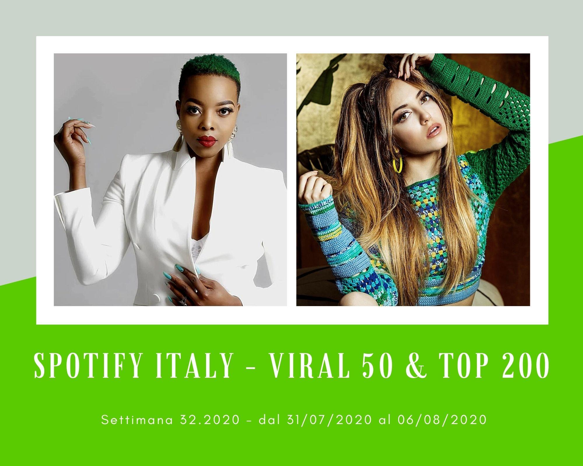 Classifica Spotify, week 32: dominano le accoppiate Master KG & Nomcebo Zikode e Rocco Hunt & Ana Mena