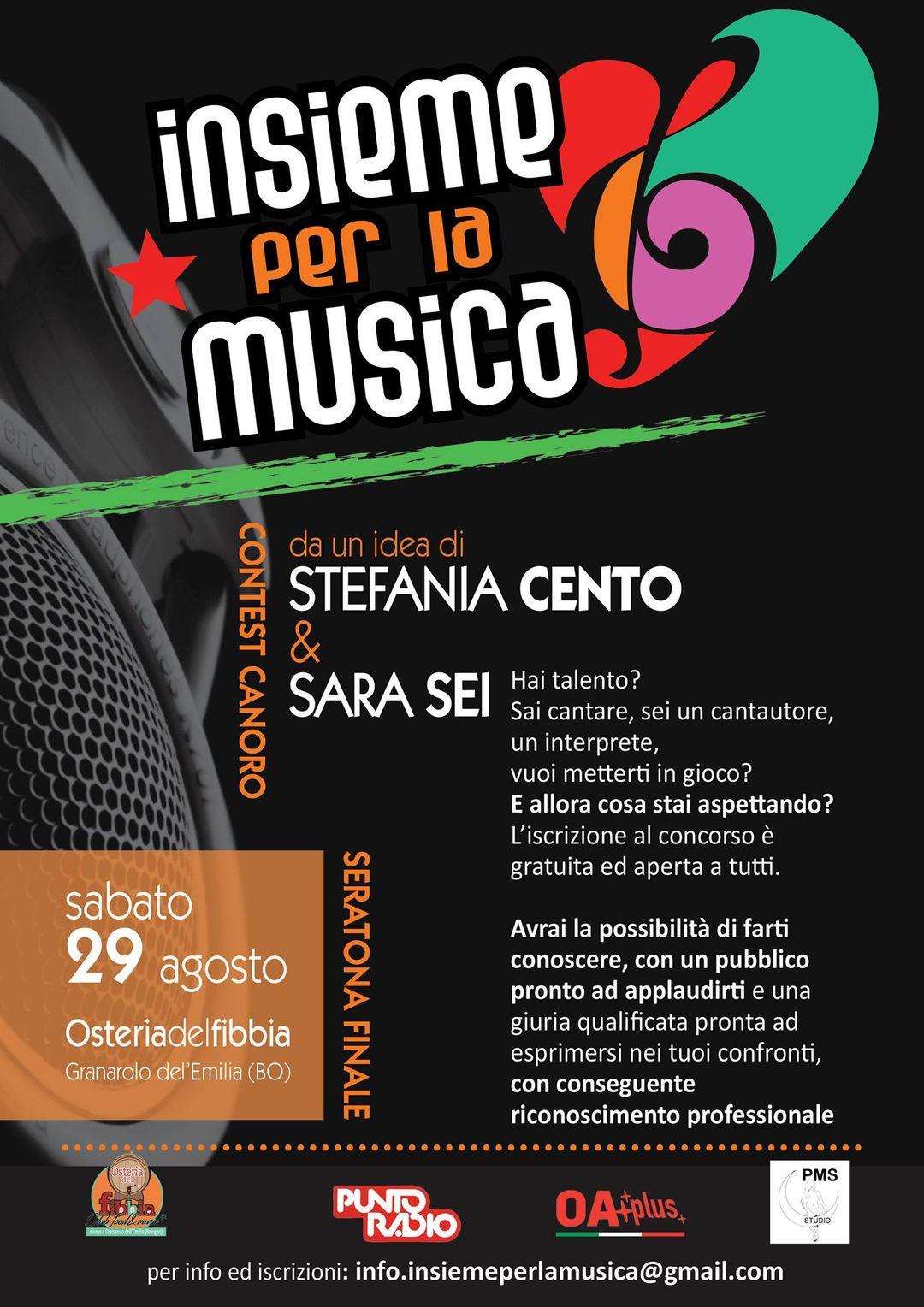 """""""Insieme per la musica"""", interpreti e cantautori nel concorso che OaPlus trasmetterà in diretta domani sera"""