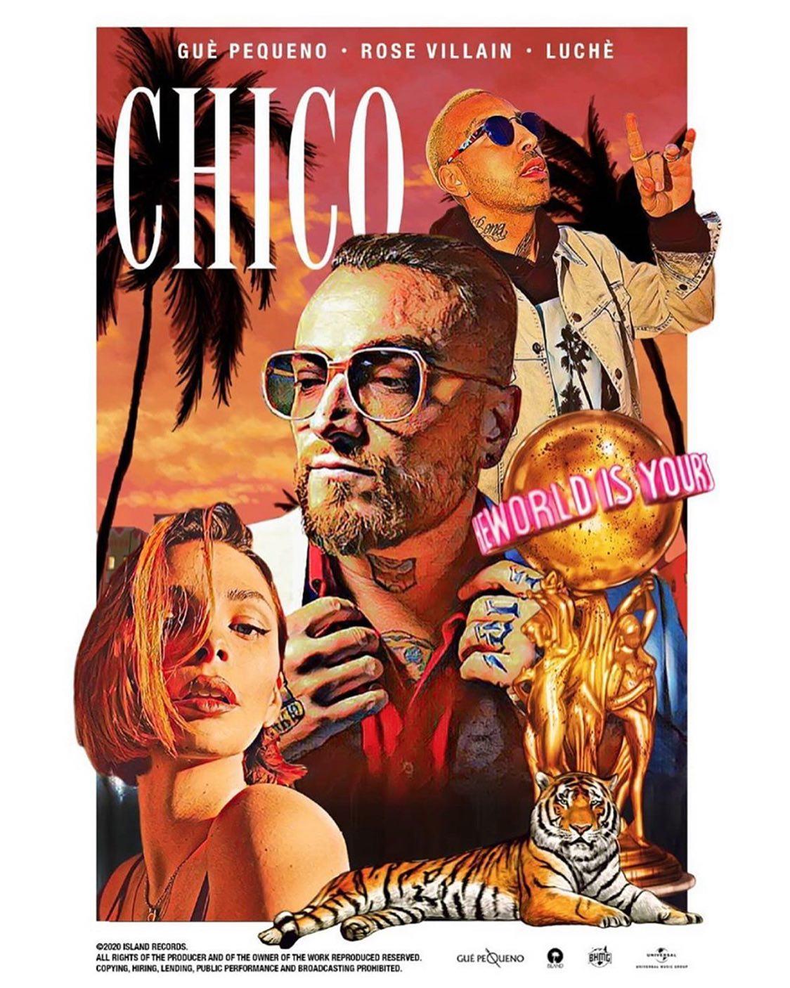 """Guè Pequeno feat Rose Villain & Luchè, """"Chico"""": il marchio Trap"""