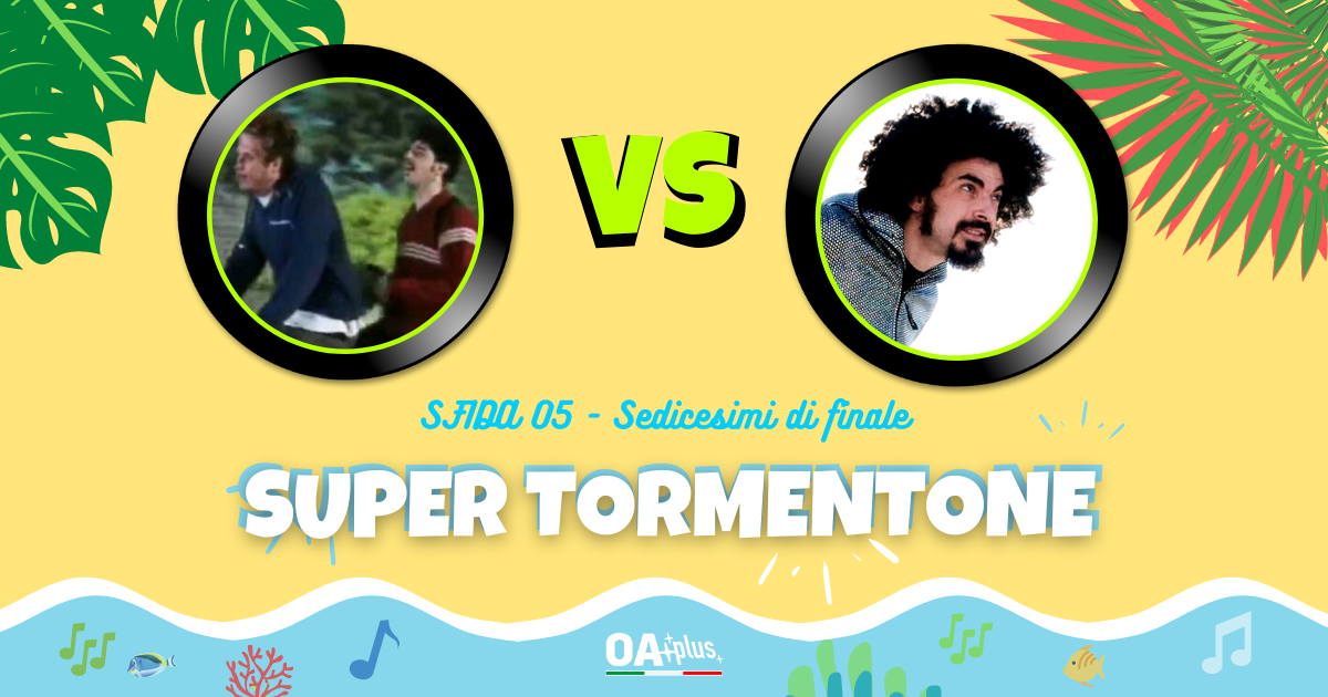 """SUPER TORMENTONE: """"Vento d'estate"""" di Niccolò Fabi & Max Gazzè VS """"Vieni a ballare in Puglia"""" di Caparezza feat. Al Bano – Vota il tuo preferito"""