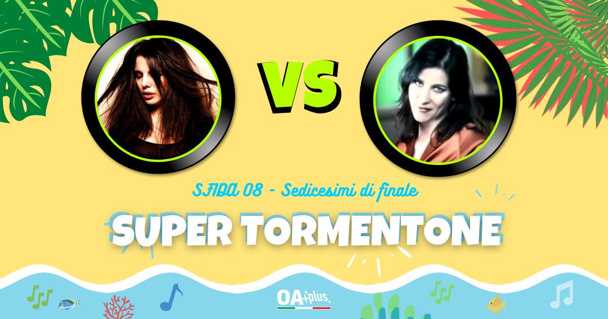 """SUPER TORMENTONE: """"Angeli noi"""" di Mietta VS """"Sai che è un attimo"""" di Paola Turci – Vota il tuo preferito"""