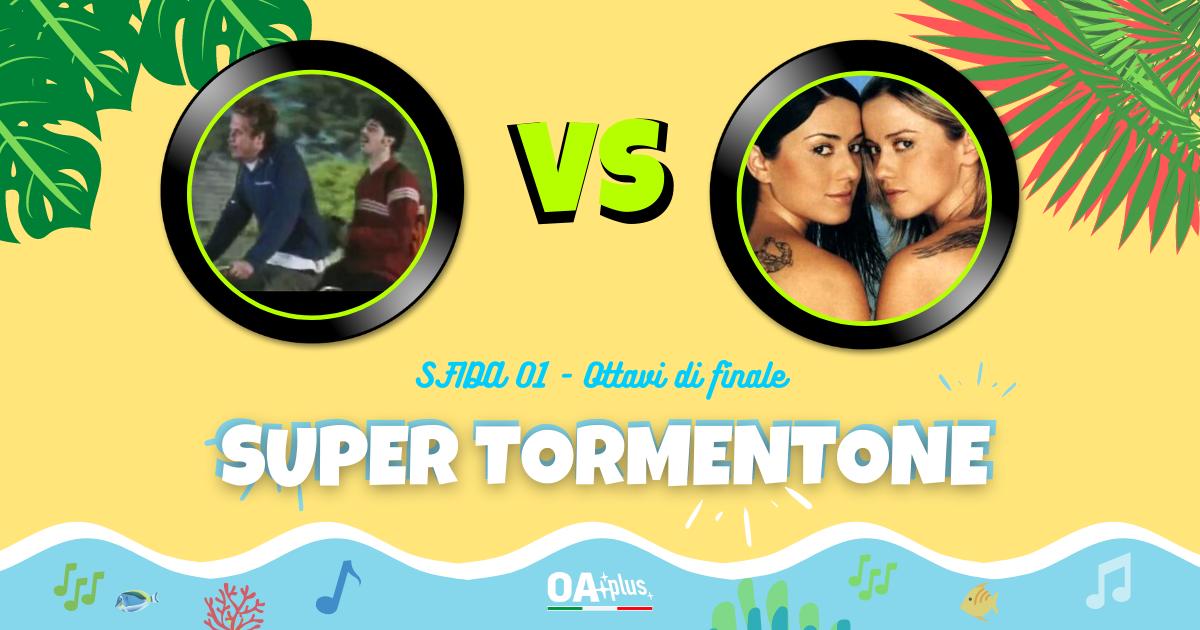 """SUPER TORMENTONE: """"Vento d'estate"""" di Niccolò Fabi & Max Gazzè VS """"Vamos a bailar"""" di Paola & Chiara – Vota il tuo preferito"""