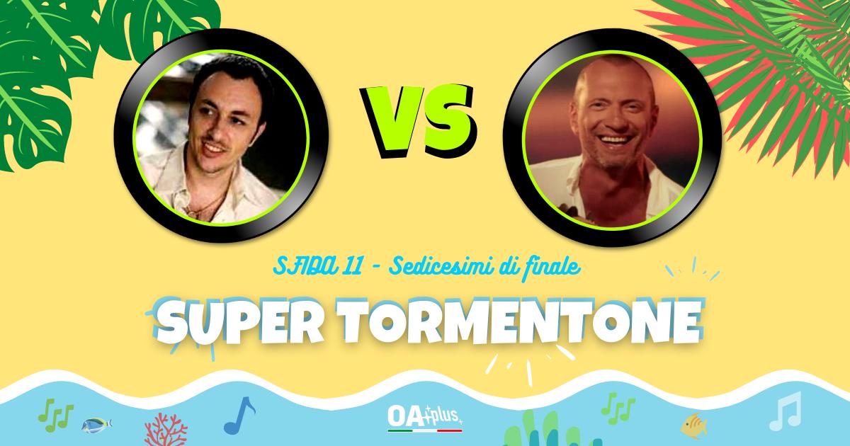 """SUPER TORMENTONE: """"La mia signorina"""" di Neffa VS """"Non vivo più senza te"""" di Biagio Antonacci – Vota il tuo preferito"""