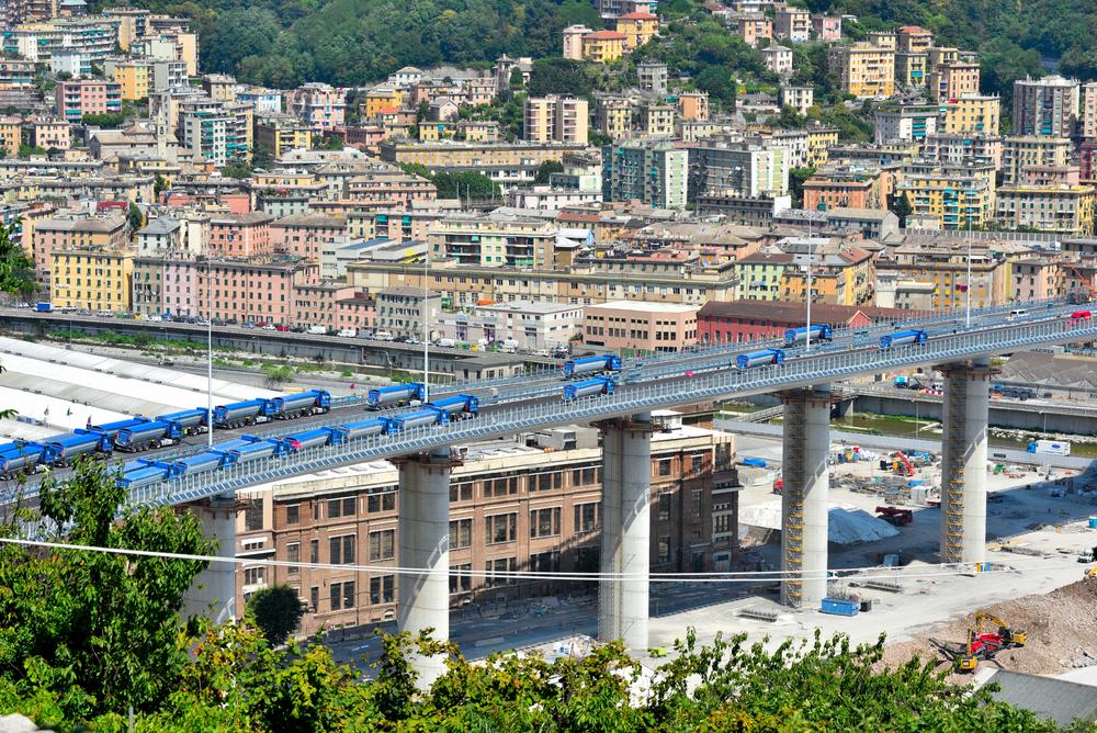 """Nuovo ponte di Genova, oggi l'inaugurazione del """"San Giorgio"""" sotto gli occhi di Conte e Mattarella"""