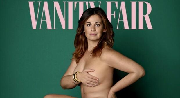 """Vanessa Incontrada si mostra nuda sulla copertina di Vanity Fair: """"Nessuno può giudicare il mio corpo"""""""
