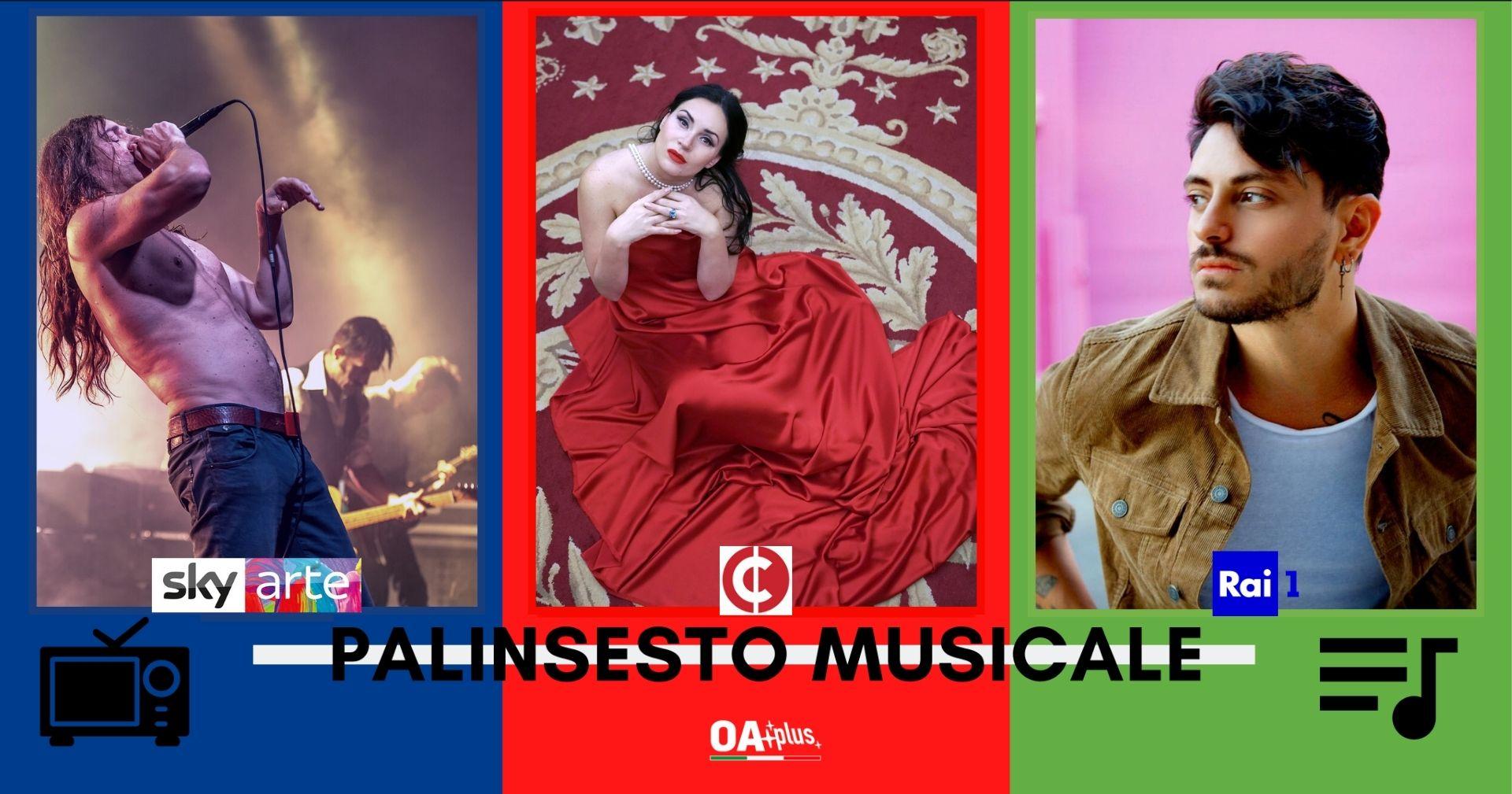 Rubrica, PALINSESTO MUSICALE: Afterhours, Sonya Yoncheva, Tale e Quale Show