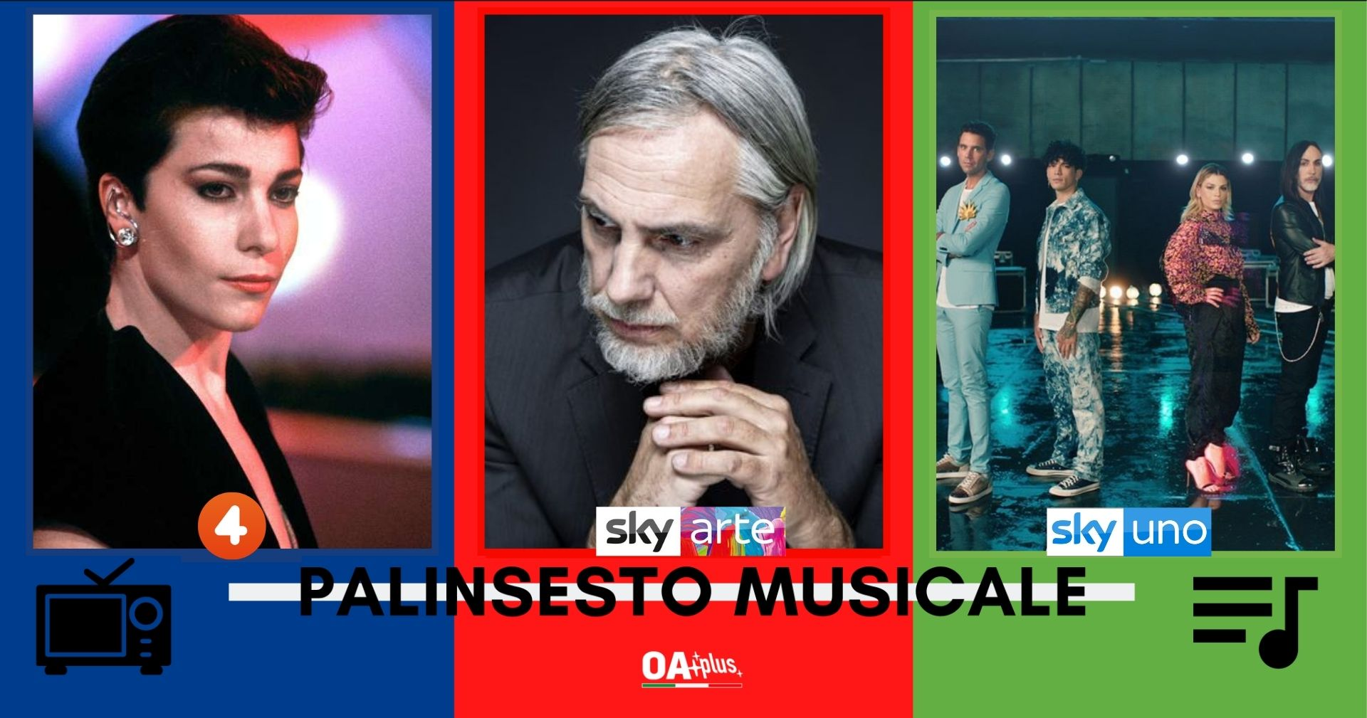 Rubrica, PALINSESTO MUSICALE: Giuni Russo, Paolo Benvegnù, X Factor 2020