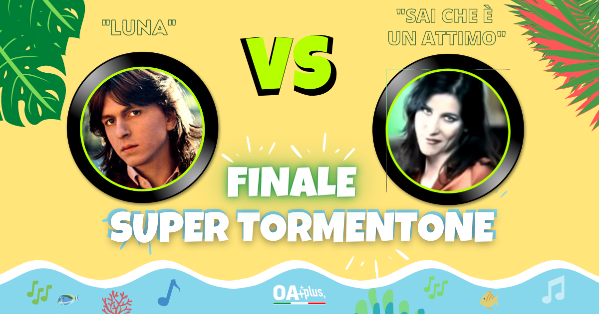 """SUPER TORMENTONE: """"Luna"""" di Gianni Togni VS """"Sai che è un attimo"""" di Paola Turci – Vota il tuo preferito"""