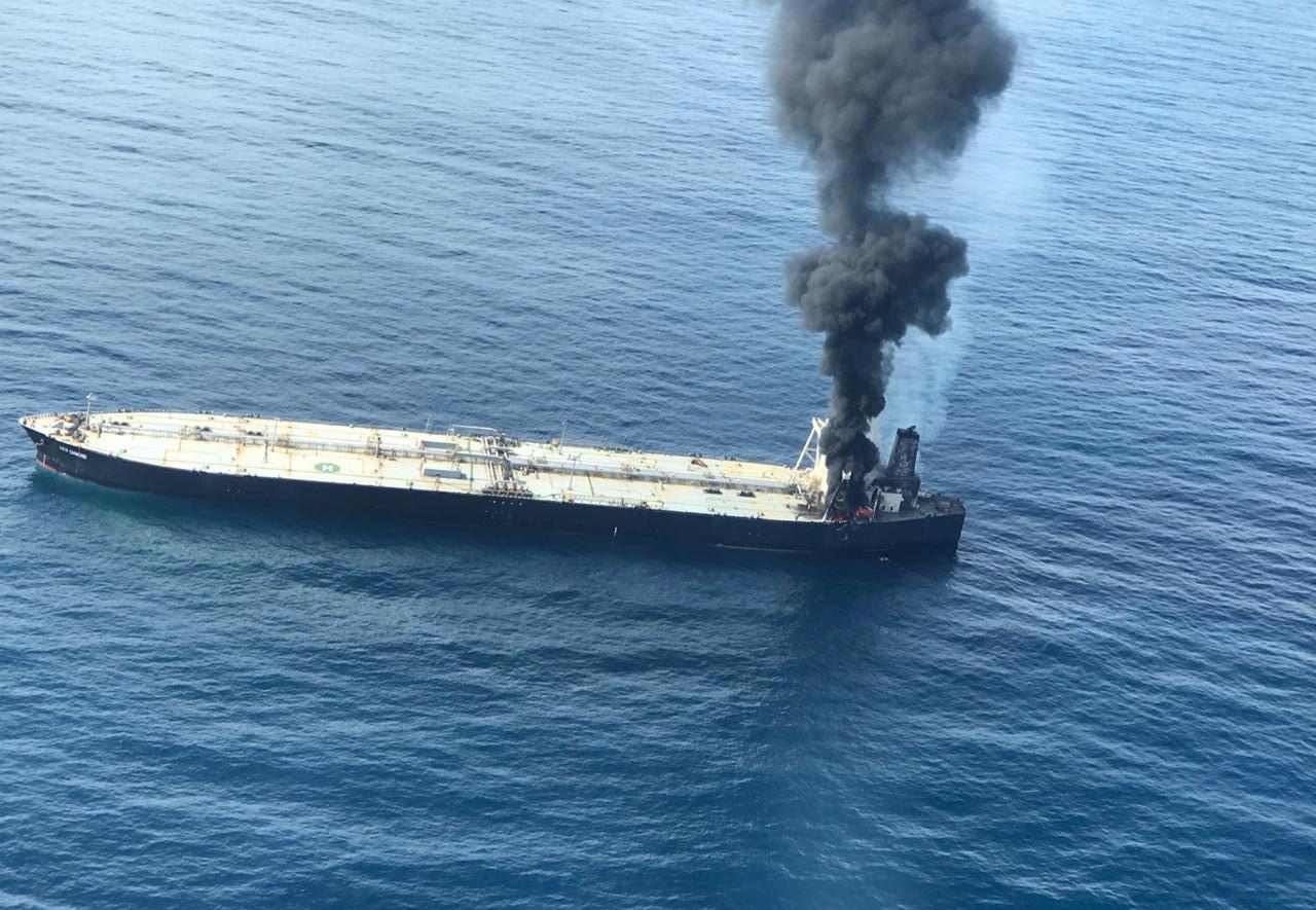 Sri Lanka: l'incendio sulla petroliera è stato domato