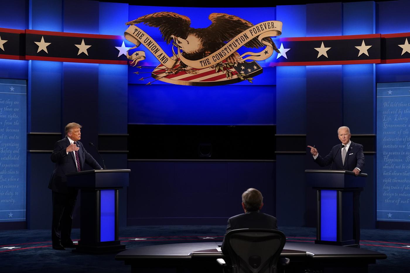 Trump e Biden, il resoconto del primo dibattito televisivo