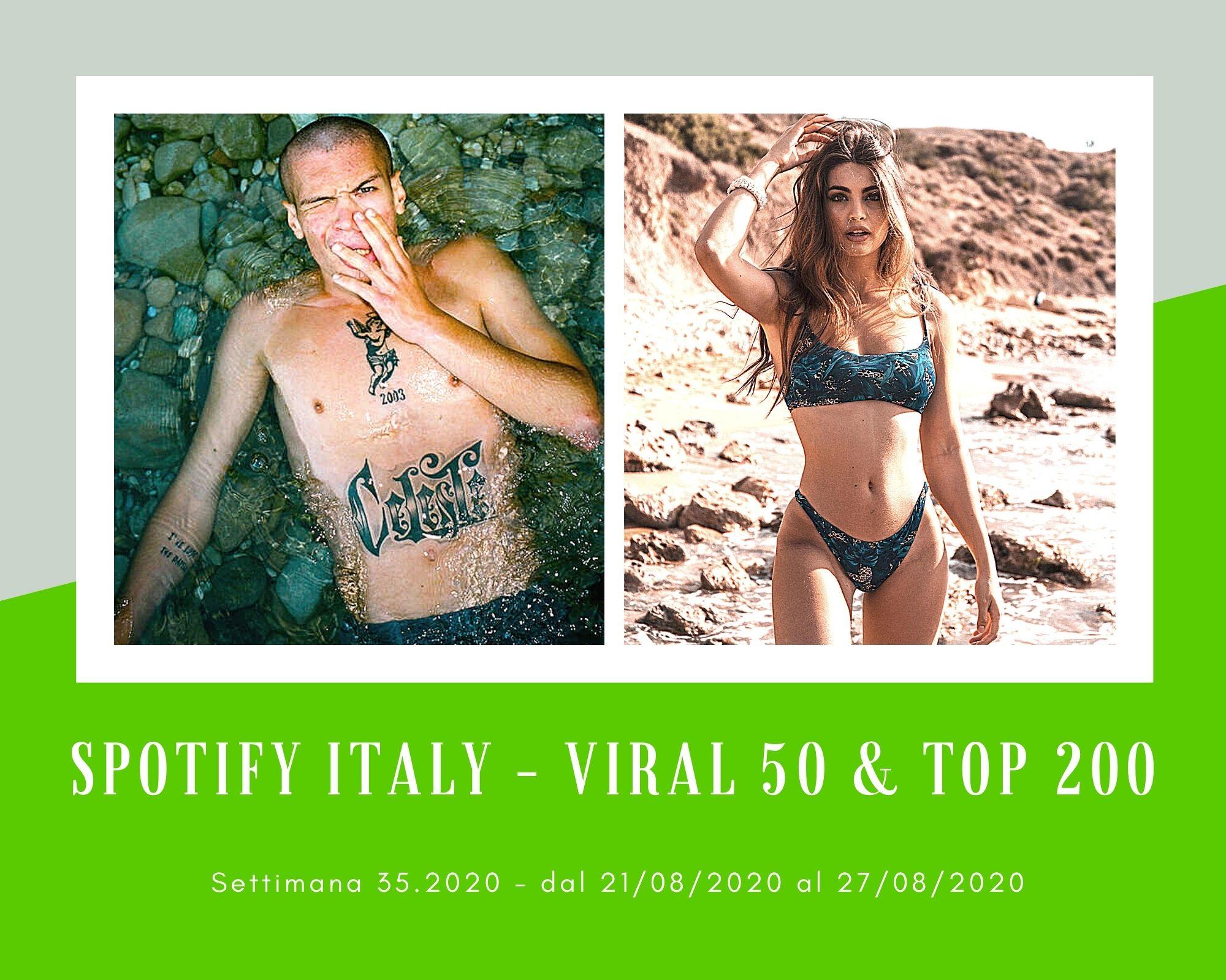 Classifica Spotify, week 35: Non solo Aiello, tra le rivelazioni d'estate anche Blanco e Emma Muscat