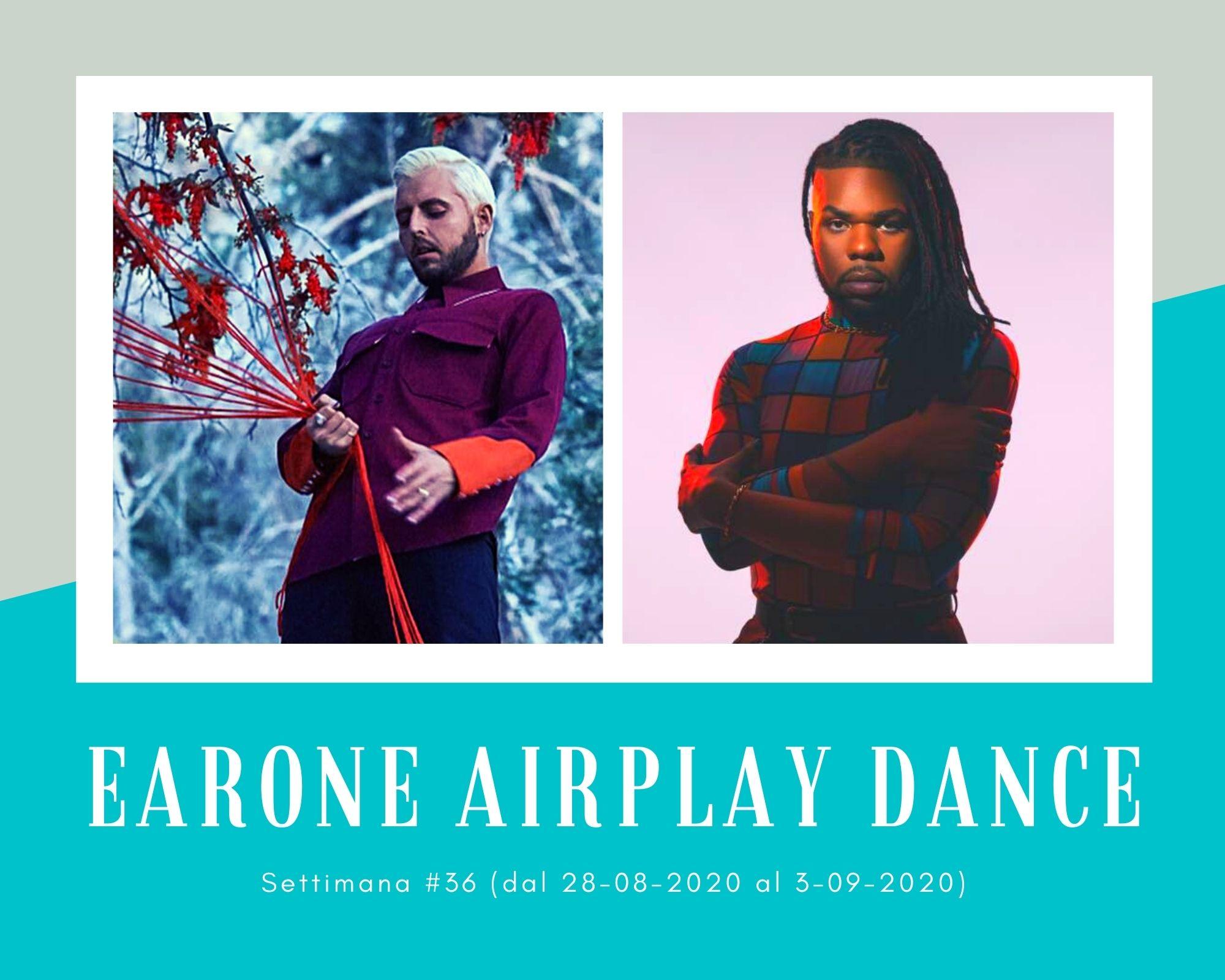 Classifica Radio EarOne Airplay Dance, week 36: Avanzano le accoppiate Lgbt Joel Corry & Mnek e Kungs & JHart. In vetta Topic & A7s
