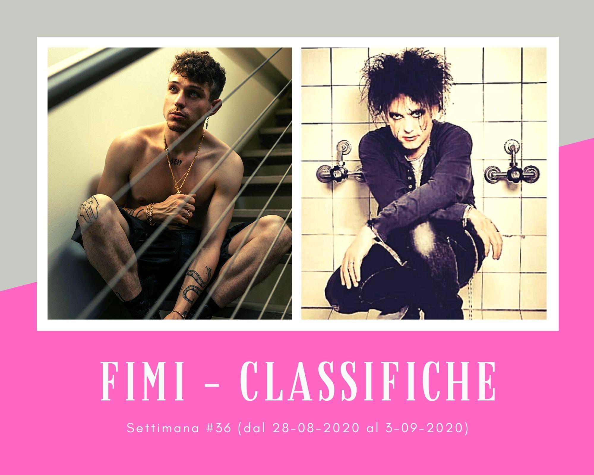 Classifiche FIMI, week 36: Boom per Irama in formato album. Ritorno a The Cure e Mia Martini per il revival dei vinili