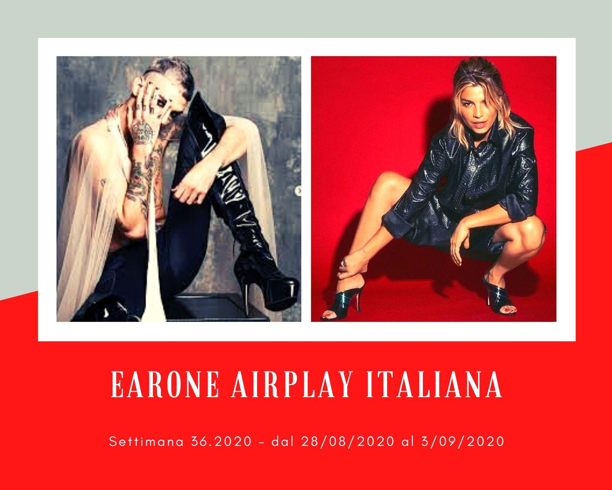 Classifica Radio EarOne Airplay Italiana, week 36: Achille Lauro regina a sorpresa. Avanzano Emma e la coppia Lgbt Mika & Michele Bravi