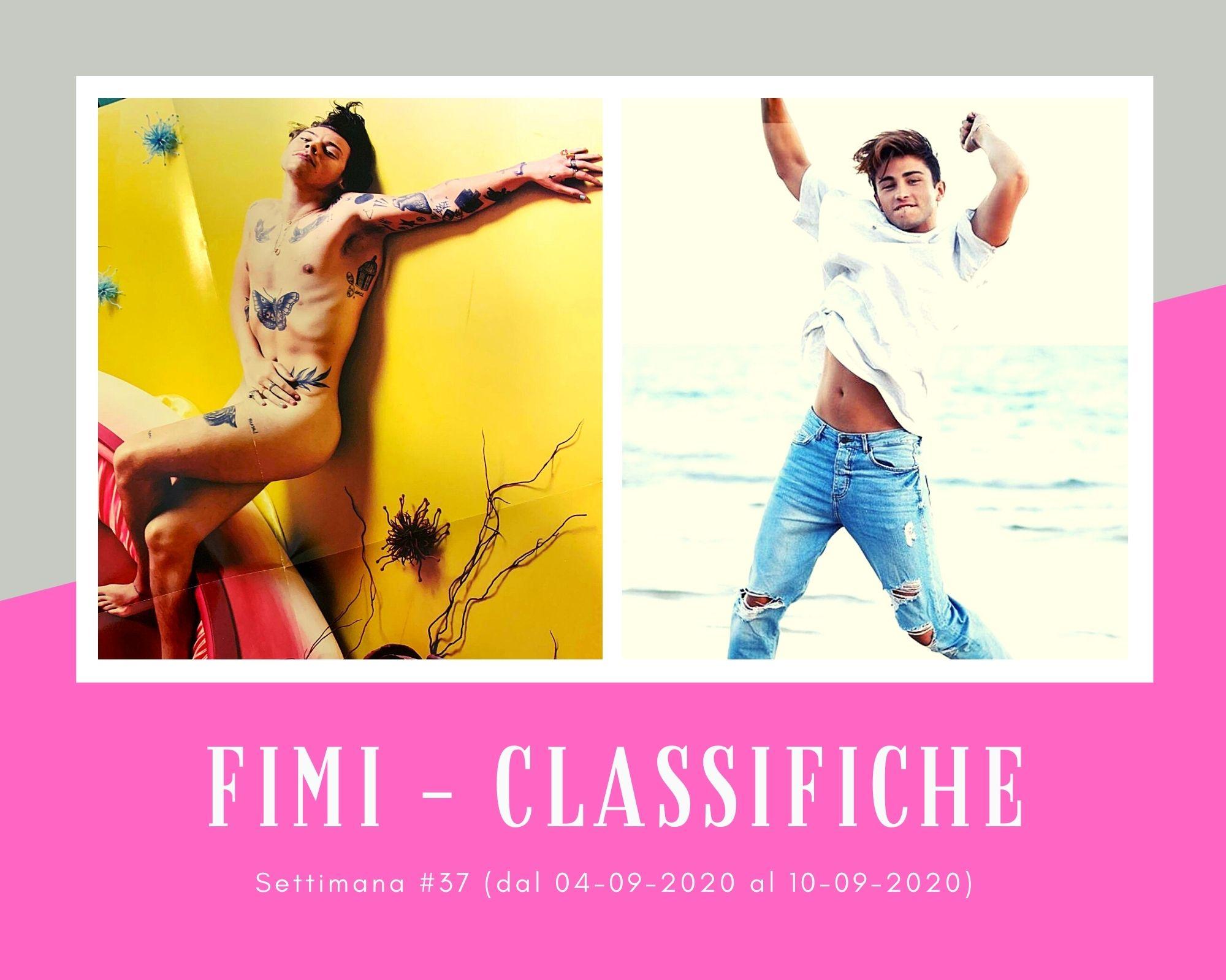 Classifiche FIMI, week 37: raddoppia la voglia di Harry Styles, il rap salva D'Alessio e Riki ritorna in vita