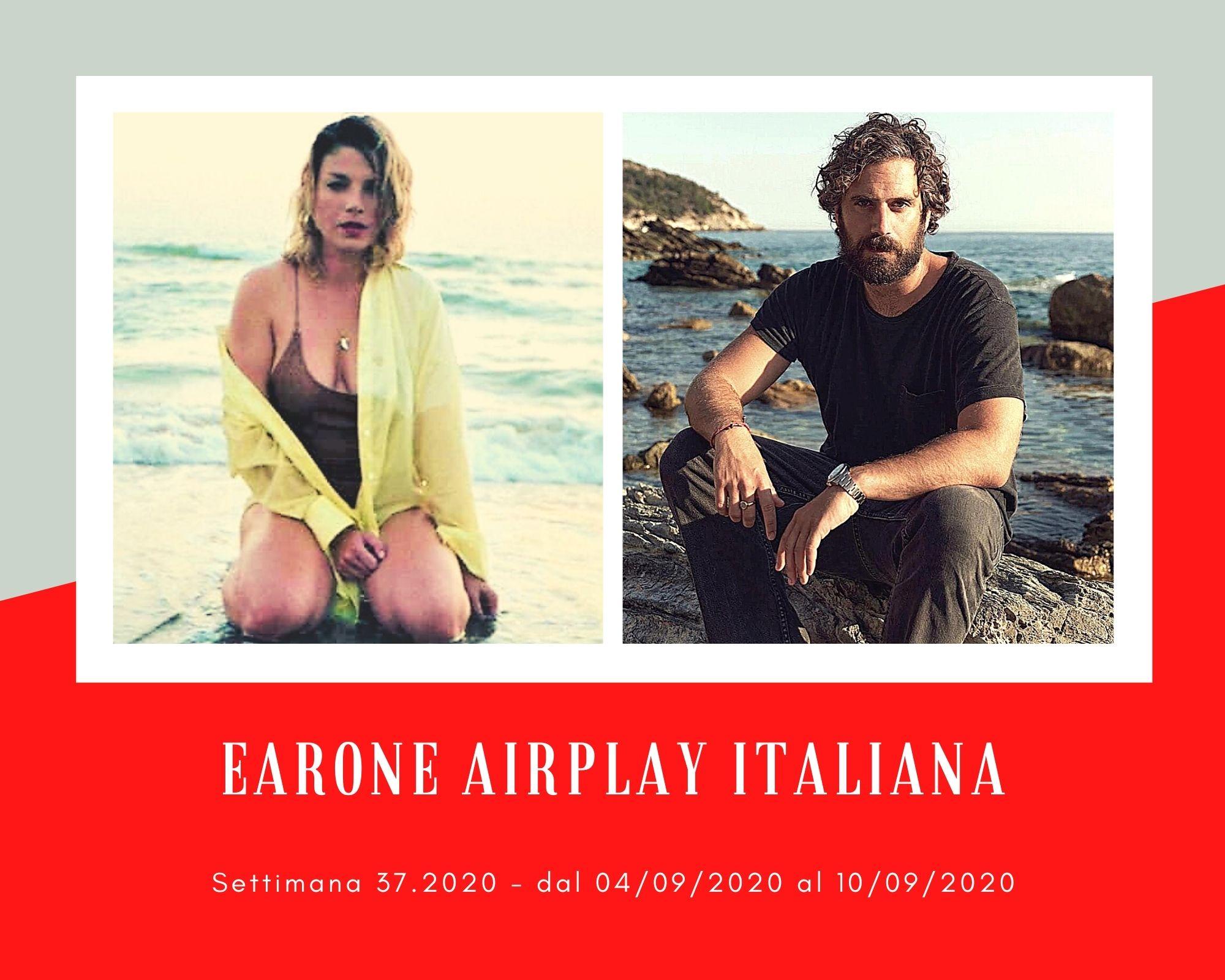 Classifica Radio EarOne Airplay Italiana, week 37: Tommaso Paradiso e Emma irrompono, Achille Lauro e Alessandra Amoroso resistono in vetta