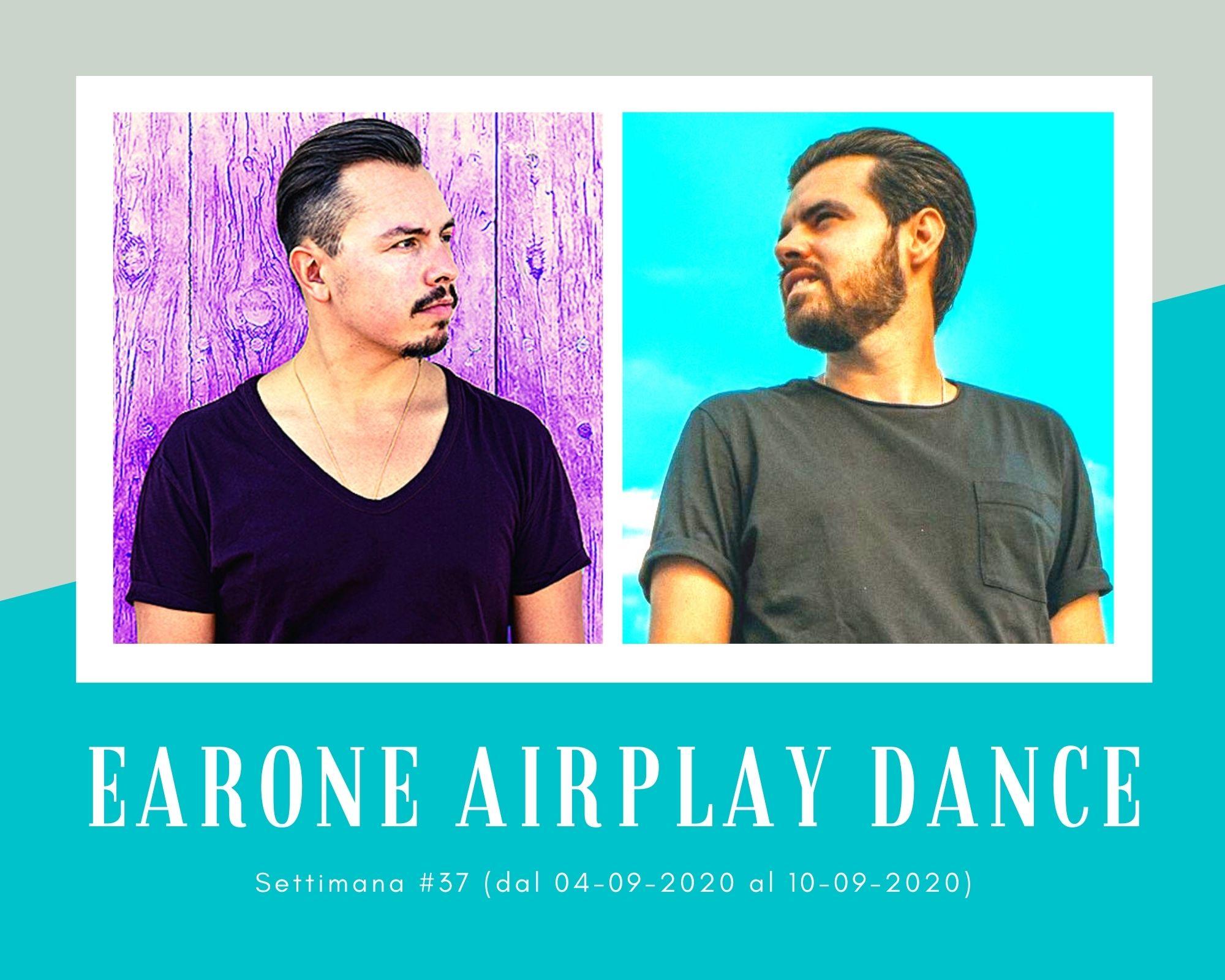 Classifica Radio EarOne Airplay Dance, week 37: Kareen Lomax e Mathieu Koss avanzano, Purple Disco Machine & Sophie and the Giants ritornano in vetta