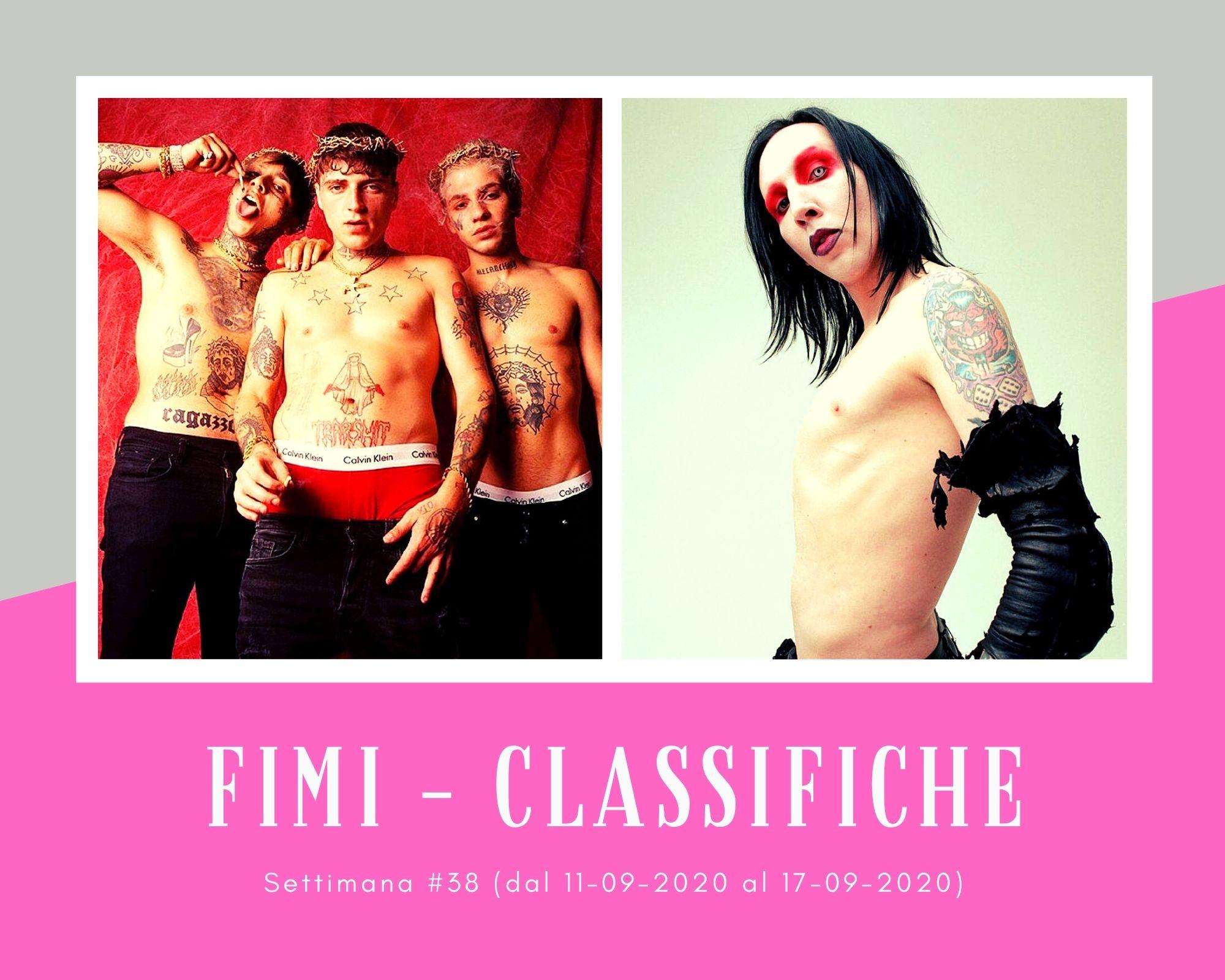 Classifiche FIMI, week 38: Marilyn Manson e gli FSK Satellite irrompono. Non decollano Emma e Tommaso Paradiso