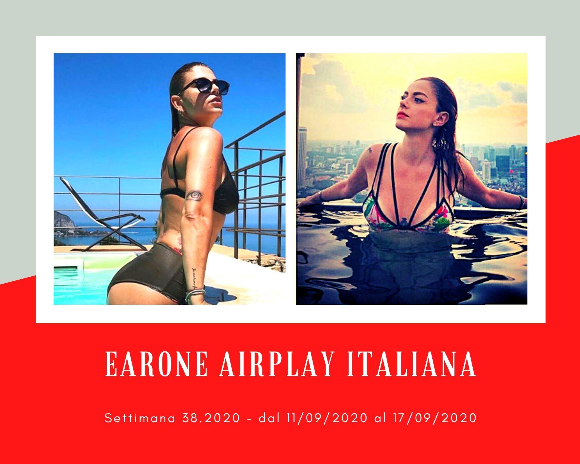 Classifica Radio EarOne Airplay Italiana, week 38: Emma e Ligabue primeggiano senza vendere. Trasmesse anche Gaia e Annalisa
