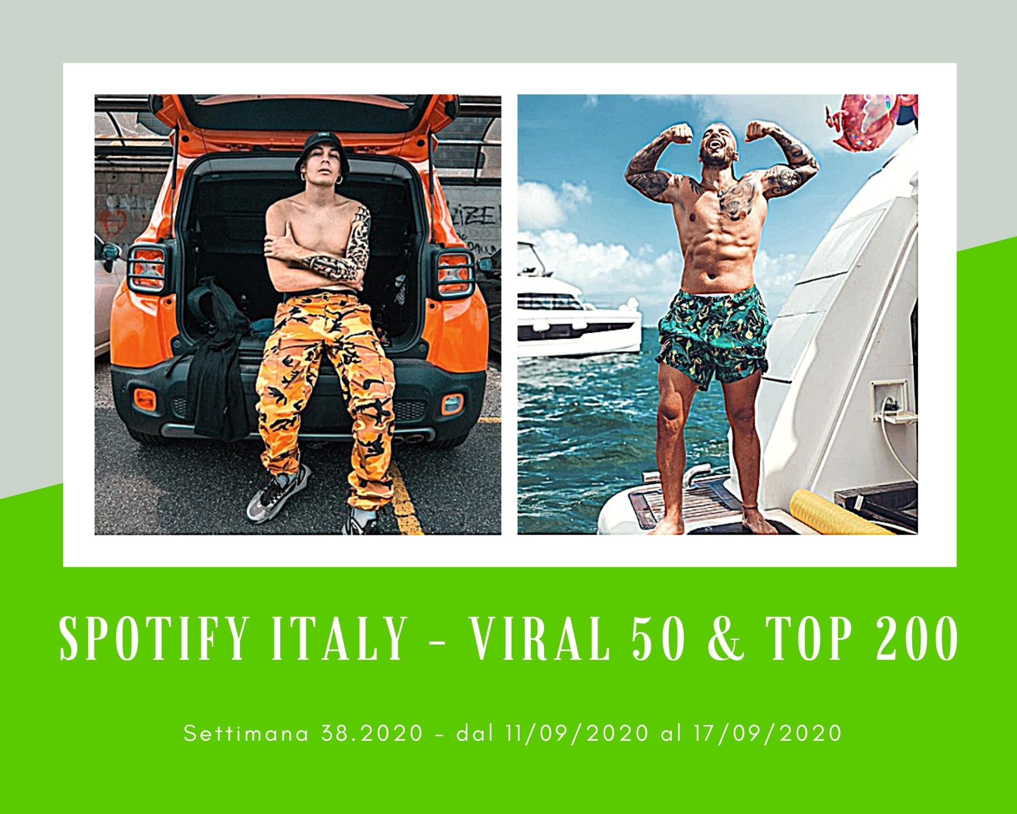 Classifiche Spotify, week 38: Maluma sempre più su, Harry Styles e Salem Ilese resistono, Il Tre esplode