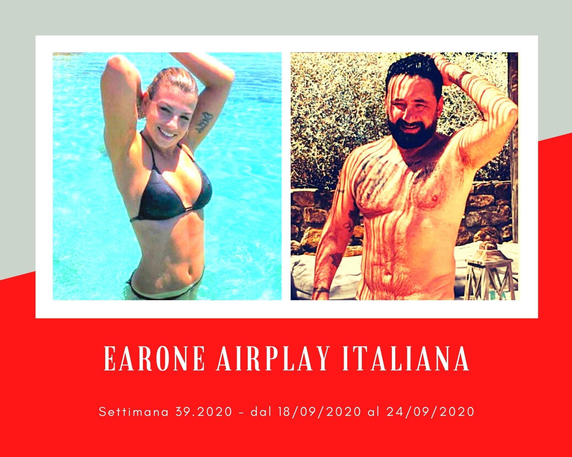 Classifica Radio EarOne Airplay Italiana, week 39: Emma regina d'autunno. Avanza Tiromancino, resistono Elodie, Anitta, Ana Mena e Alessandra Amoroso