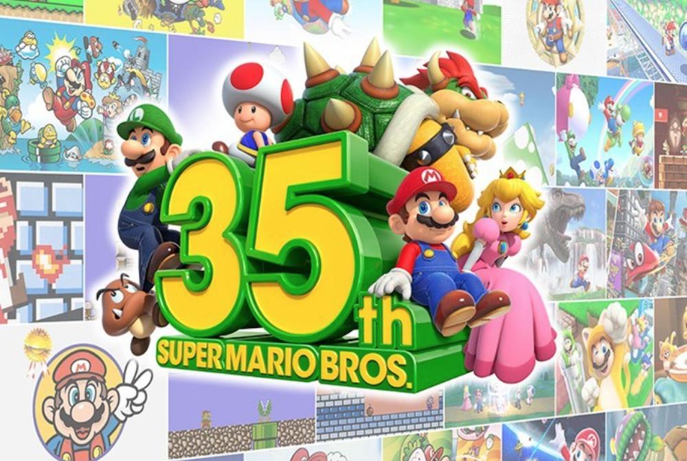 Super Mario, ecco come Nintendo celebra i 35 anni del videogioco